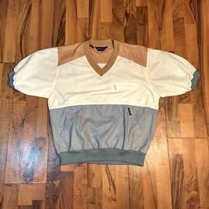 Pierre Cardin Retro Color Block Windbreaker